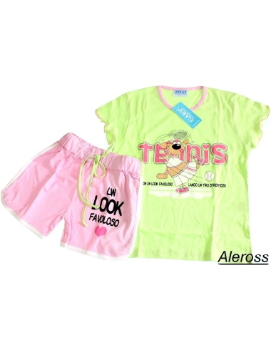 Girls 3 Offre 6 Looney Manches Pyjama Ans 4 7 Titti Tunes 5 2 gqxp56fn