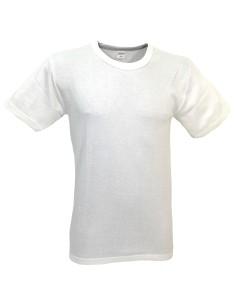 Maglia intima Uomo LANA-COTONE mezza manica misure 4/M-5/L-6/XL-7/XXL bianco 863
