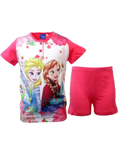 Pigiama Bimba Disney Frozen 3-4-5-6-7 anni cotone Jersey manica corta 22872