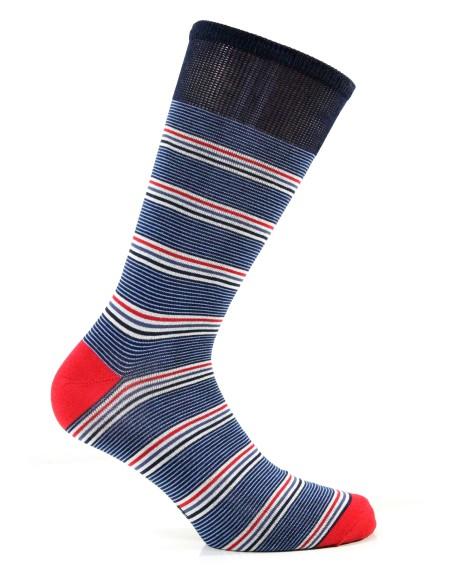 CORTE Man Socks 12 Pairs Enrico Coveri Mercerized Cotton One Size 206