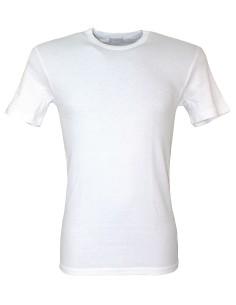 2 Maglie intime Uomo LIABEL cotone felpato 4/M-5/L-6/XL-7/XXL-8/XXXL Bianco D23