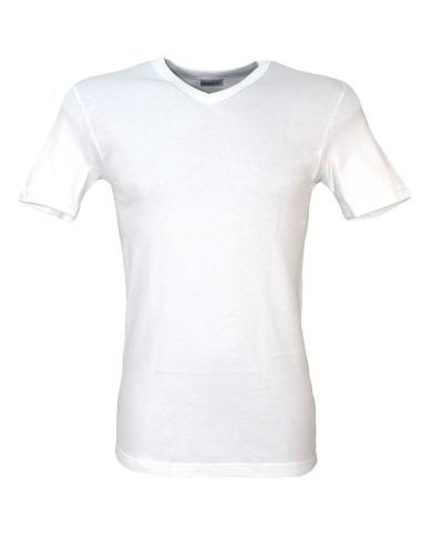 Maglia Intima Uomo LIABEL 5321-23 Lana Cotone  mezza manica Tg 4-5-6-7-8 Bianco