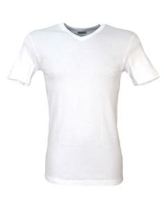 Maglia Intima Uomo Scollo V cotone Caldo 4/M-5/L-6/XL-7/XXL-8/XXXL Bianco 844