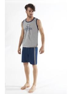 Pyjama homme Navigare Mesures confortable conformées Coton Interlock 140811B