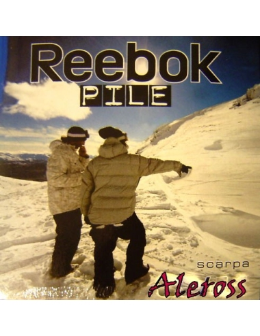 OFFERTA Calze Lunghe Uomo Pile REEBOK 39/41-42/43-44/46 Nero-Blu-Grigio RBUKU20