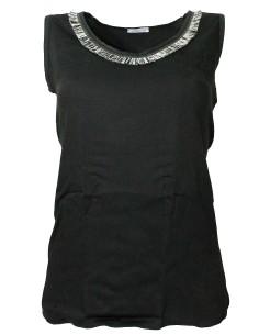 Tee shirt Femme Jadea manches courtes col rond en coton blanc 4940