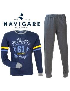 Navigare Pigiama Ragazzo cotone Interlock invernale 10-12-14-16 anni 215572