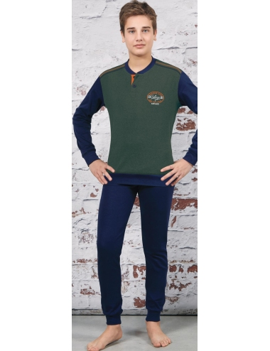 Navigate Pajamas Boy cotton Winter interlock 10-12-14-16 years 215570