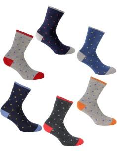 6 Short socks Bimbo Male sock Enrico Coveri Warm Cotton 2/4 years lanc 172