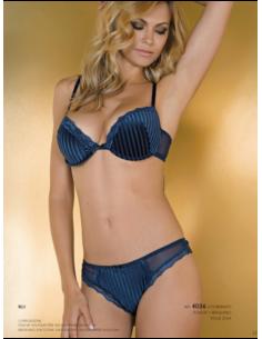 Women's Underwear Set Jadea Push Up Slip Made in Italy Lavender 4002