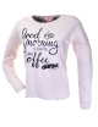 Girl pajamas DANCE SIZE interlock cotton measures 14/16 years Milk 22023