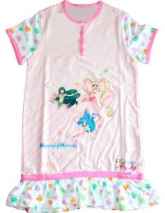 Pyjama Bimba coton à manches courtes 2/3-4/5-6/7-8/9 années Mermaid Melody 2382
