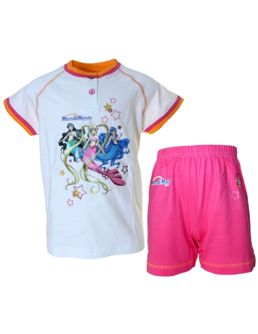 OFFRE Pyjama Girls 2 / 3-4 / 5-6 / 7 ans manches longues en coton Mermaid Melody 2389