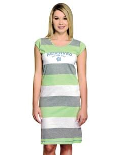 Camicia da notte donna della Disney corta spalla larga WD20345 grigio Tg M/44