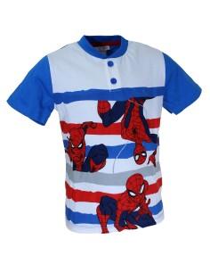 Pigiama Bimbo Spider Man Uomo Ragno manica corta 3-4-5-6-7 anni DENIM 16189