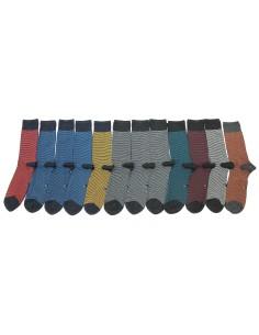 12 Paia di calze CORTE Uomo della Enrico Coveri Caldo Cotone trend 40M