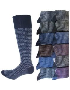 12 Paia di calze LUNGHE Uomo della Enrico Coveri Caldo Cotone fashion 222
