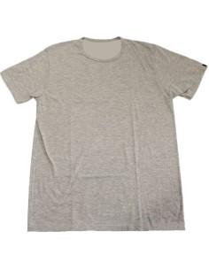 T-shirt Uomo Manica corta Solo Soprani Girocollo cotone 4/M Grigio Barcellona