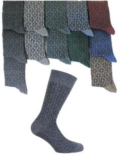 12 paires de chaussettes courtes homme Enrico Coveri Warm Cotton tendance 317