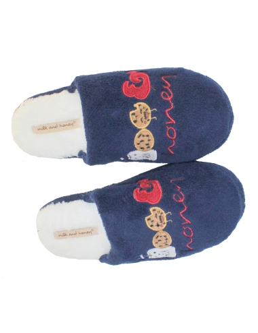 Pantofola Ciabatta DONNA invernale in PILE morbide e calde SH0281