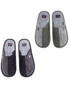 Pantofola Ciabatta Uomo invernale in PILE morbide e calde SH0301
