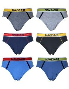 6 Pieces Briefs for Men NAVIGARE UNDERWEAR Pant Underwear Stretch 2923