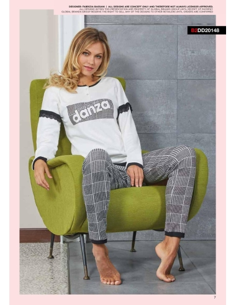 Pyjama Femme DANCE SIZE survêtement fille Warm Cotton Interlock gris 20155