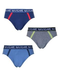 6 pièces Slip homme NAVIGARE UNDERWEAR Slip Stretch Underwear 2935