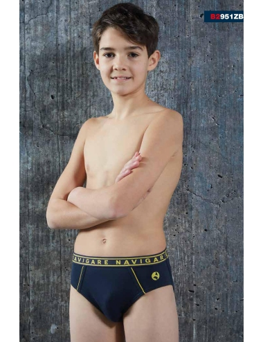 6 Briefs Boy Pant Navigare Child 10, 12, 14, 16 Years 2935ZJ