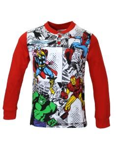 Pigiama Bimbo Spider Man Pigiamino Bambino Uomo Ragno fresco cotone Jersey 3-4-5-6-7 Anni MV16205