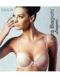 Reggiseno Donna Laura Biagiotti 2-3-4 Bianco Nero Nudo coppa imbottita Giulia