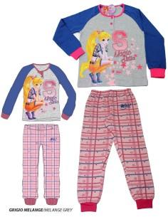 Pigiama Bimba Disney Minnie Puro cotone Interlock Misure 3-4-5-6-7 ANNI 22810