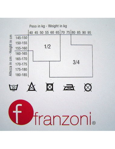 OFFERTA Collant in micro rete elasticizzato Franzoni Misura 1-2 Marrone