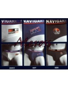 3 Pezzi Slip Uomo Navigare cotone elasticizzato Misura 5/L/50 ART 324
