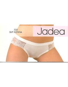Slip donna elasticizzato in pizzo Jadea Misura 5/XL Colore Lilla 520/C