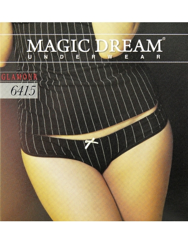 3 Slip Donna Tg 3/M/44-4/L/46-5/XL/48 Cotone Elasticizzato Magic Dream 6415