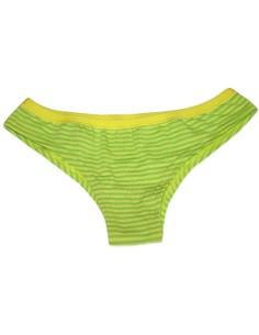 Slip Brésilien Femme Taille Jadea 3 / M coton stretch Couleur Orange 6510