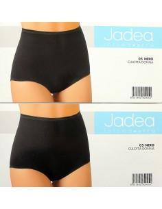 Slip Culotte Boxer Donna Jadea cotone elasticizzato Nero 4-5-6-7 MadeInItaly 05