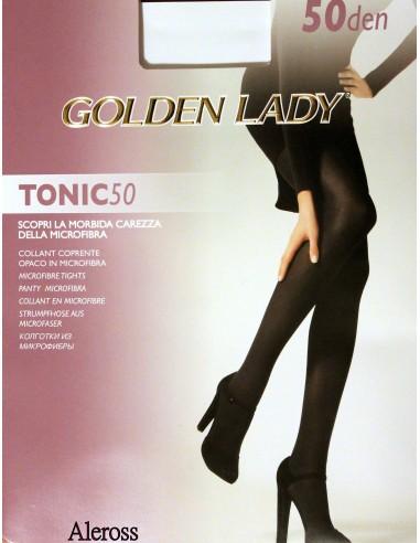 new styles 3d8dc b607a Collant coprente opaco Donna Golden Lady Tonic 50 Den Microfibra