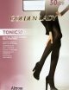 Collant Donna Microfibra Coprente Vita Bassa Golden Lady Teens 40 DEN Nero