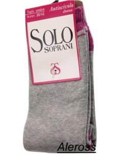 Calza corta antiscivolo calzino Donna Solo Soprani casa sport MISURA UNICA U803