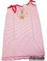 OFFERTA Camicia da notte Donna abitino casa in cotone misura M/44 Rosa 80104