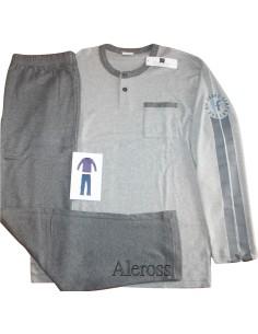 OFFERTISSIMA pigiama Uomo Interlock Fiore Ferragamo Misura 5/L/50 Grigio 1034