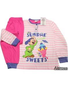 Pigiama Bimba puro cotone manica pantalone lungo Disney Cucciolo 8 anni 22511B