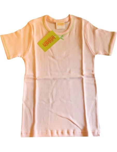 Maglia intima Bimba Bellidentro cotone felpato misura 10/11 anni Rosa 2917