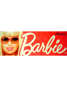 Coordinato completo intimo Bimba Barbie Maglia Slip Rosa 3 anni cotone MG26
