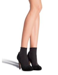Calzino donna reversibile Collezione moda autunno inverno Made in Italy DIVERSA