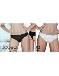 2 Slip Donna Brasiliano Jadea Misure 2/S/42-3/M/44-4/L/46 Latte Nero 6685
