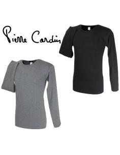 T-shirt Maglia intima Uomo Manica lunga Pierre Cardin cotone interlock MOSCA