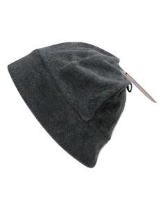 Caldo Berretto Cappello Cuffia Unisex in Pile taglia Unica Colore NERO CP1566